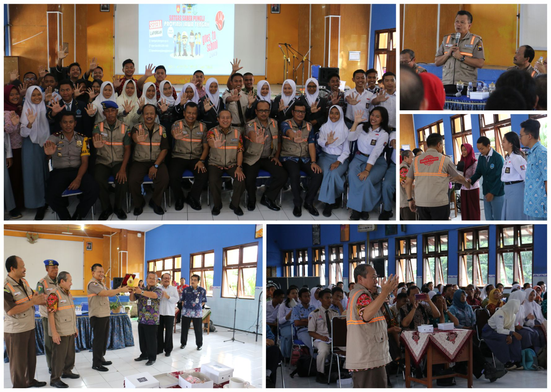 SABER PUNGLI GOES TO SCHOOL DI SMAN 2 UNGARAN