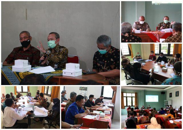 Pendampingan Monitoring Center for Prevention MCP Kabupaten Banjarnegara