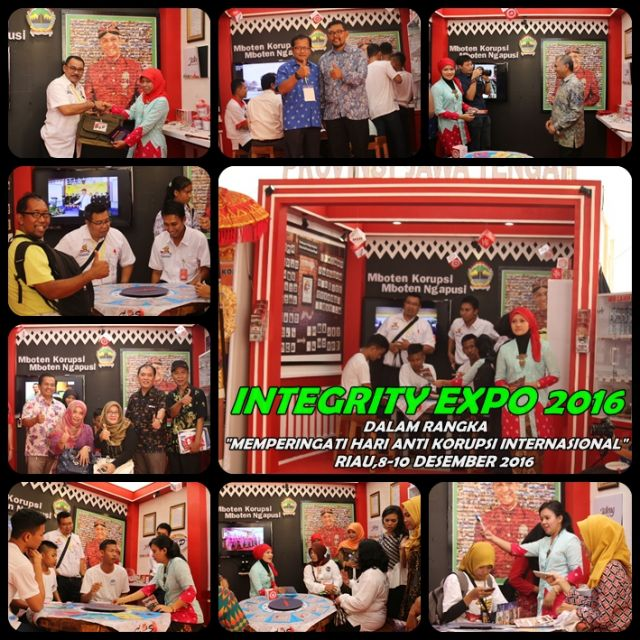 INTEGRITY EXPO 2016 GRATIFIKASI