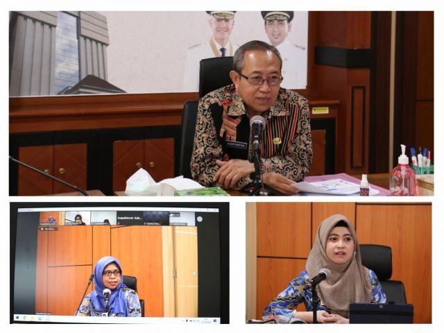 Diskusi Daring Ombudsman RI Perwakilan Jawa Tengah dengan Inspektorat se-Jateng