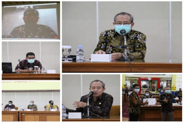 Rapat Koordinasi Pengawasan Daerah Provinsi Jawa Tengah Tahun 2020