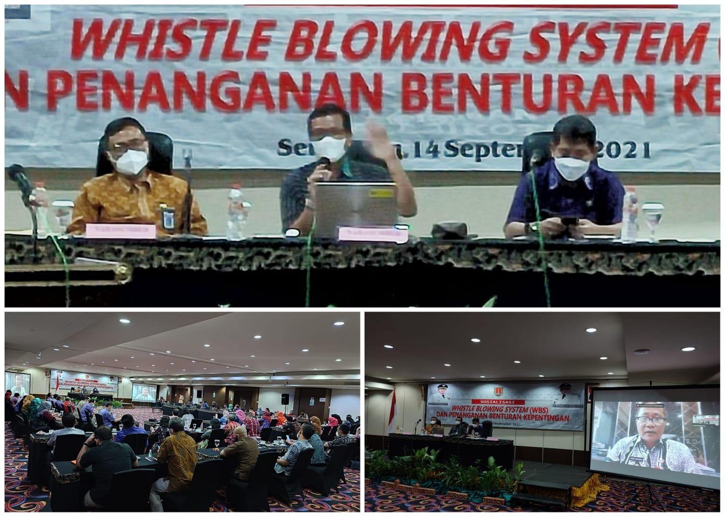 Sosialisasi Penanganan Benturan Kepentingan di Pemkot Semarang